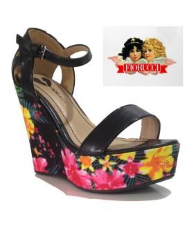 Sandales compensées - FIORUCCI - Ref: 0632