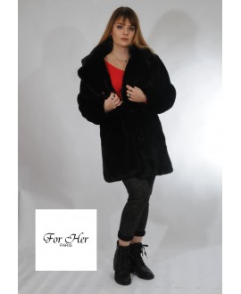 Manteau fausse fourrure For Her 7622
