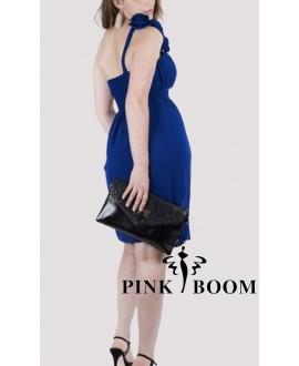 Robe PINK BOOM Bleu électrique - Ref: 7225