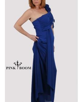 Robe longue PINK BOOM bleu électrique - Ref: 7114