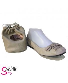 Ballerines SUREDELLE - Ref: GE22 BEIGE