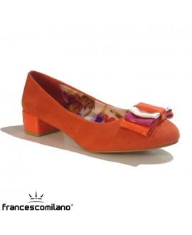 "Ballerines ""flots"" FRANCESCO MILANO - Ref: 0351"