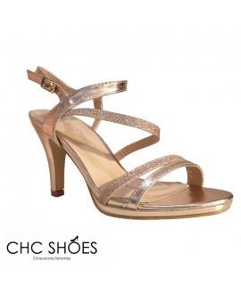 Sandales à talons - CHC - Ref : 1023