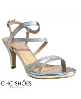 Sandales à talons - CHC - Ref : 1024