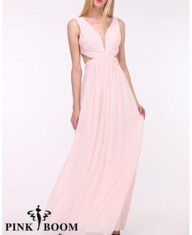 Robe longue - PINK BOOM - Ref : 7577