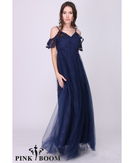 Robe longue - PINK BOOM - Ref : 7578