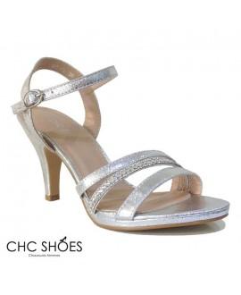 Sandales à talons - CHC - Ref : 0963