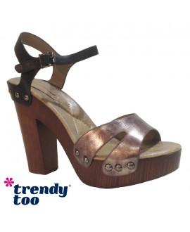 Sandales à talons - TRENDY TOO - Ref: 0629