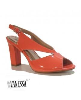 Sandales à talons vernis - Les secrets de Vanessa - Réf: 0325