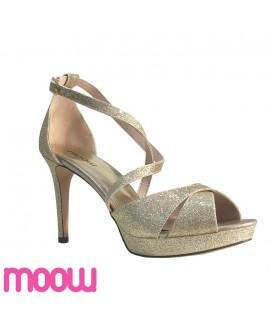 sandales à talon - Moow - Ref : 1034