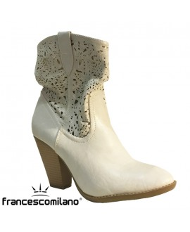 "Bottines ""dentelle"" - FRANCESCO MILANO - Ref: 0201"