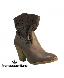 "Bottines ""dentelle"" - FRANCESCO MILANO - Ref: 0200"