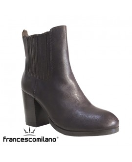 Bottines à talon - FRANCESCO MILANO - Ref: 0273
