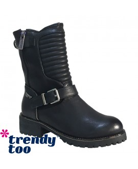 Bottines  - TRENDY TOO - Ref: 0431