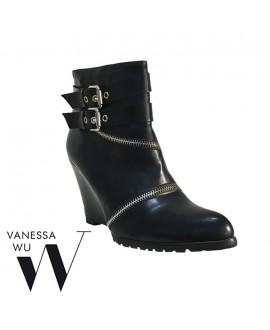 Bottines compensées - VANESSA WU -  Ref: 0391