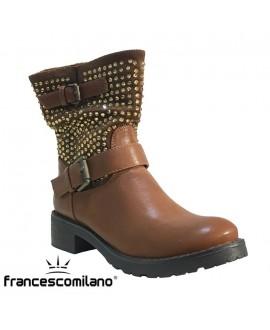 Bottines  - FRANCESCO MILANO - Ref: 0266