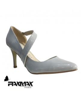 Escarpins vernis gris- Ref: 0459
